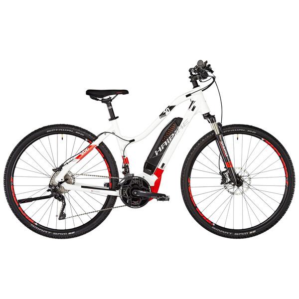 Haibike Sduro Cross 60 Low Step Electric Hybrid Bike White